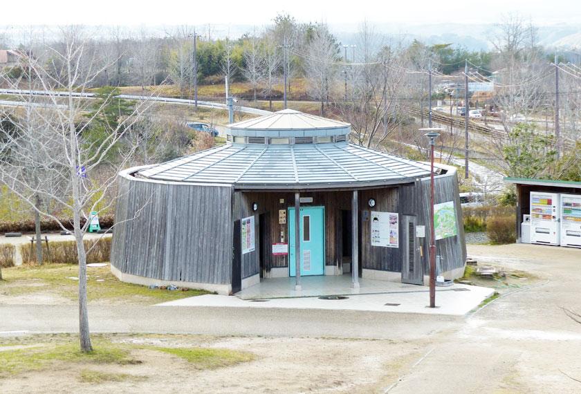 有馬富士公園の公衆トイレ