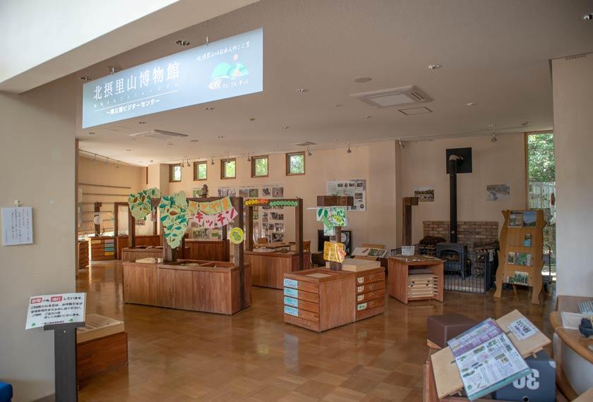 ネイチャセンター内の展示