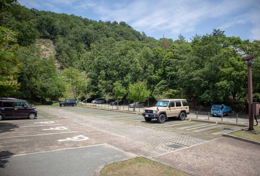 ネイチャーセンター横の丘の駐車場