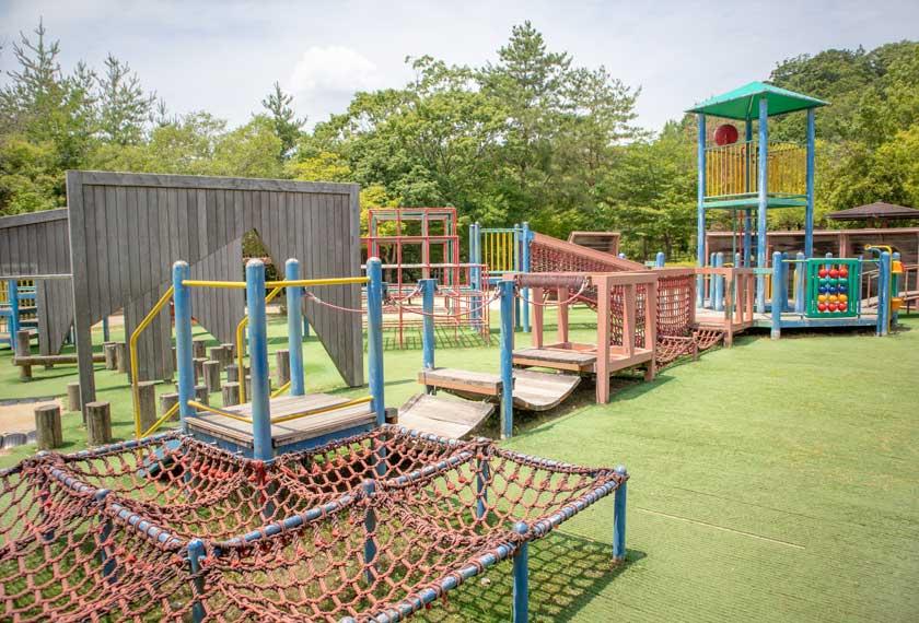 一庫公園の大型複合遊具