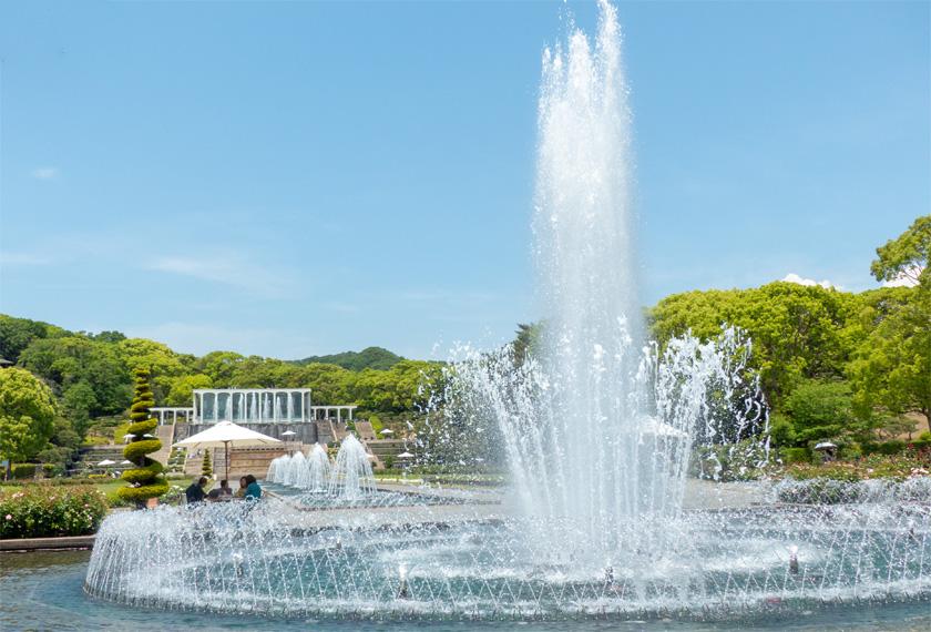 須磨離宮公園の大噴水