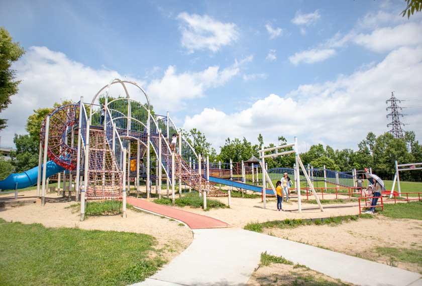 垂水健康公園の複合遊具