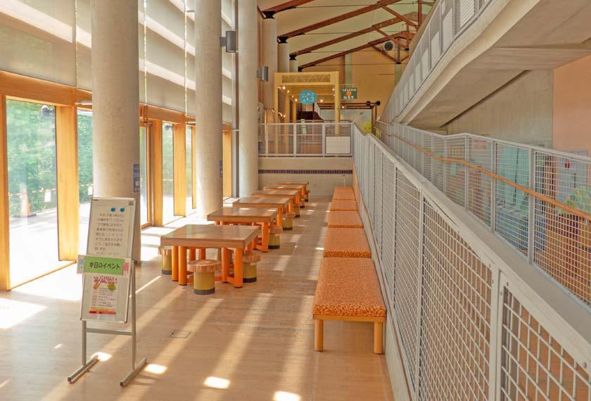 自然学習センターのワークショップエリア